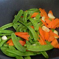 清炒荷兰豆的做法图解3