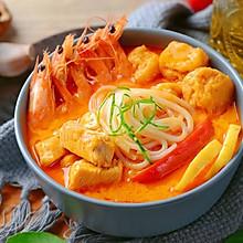 马来西亚叻沙鸡