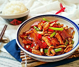 湘味萝卜干炒腊肉的做法
