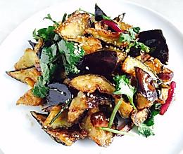 风味茄子——外壳酥脆,内心柔软的做法