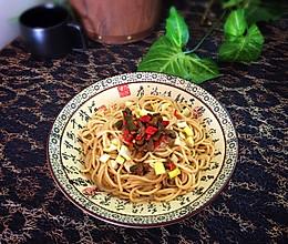 热干面#中粮我买年味儿菜#的做法