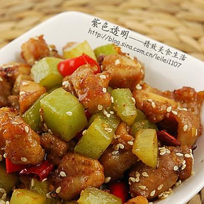 川香莴笋辣子鸡