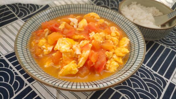 百吃不厌快手菜~西红柿炒鸡蛋的做法