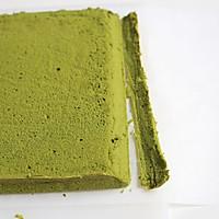 抹茶棉花蛋糕卷#春天里的一抹绿#的做法图解17