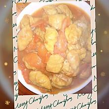 好吃到舔盘子的西红柿焖豆泡
