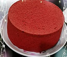 红丝绒戚风蛋糕的做法