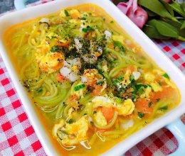 番茄鳕鱼浓汤面的做法