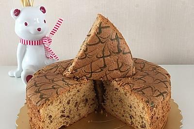 红枣八寸戚风蛋糕