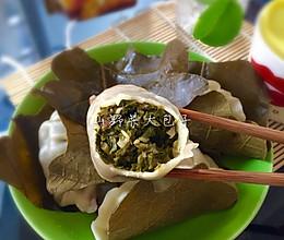 山野菜大包子的做法