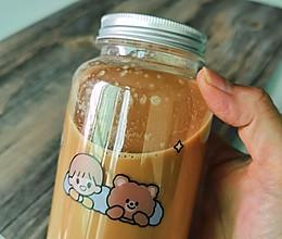 自制健康低糖奶茶的做法