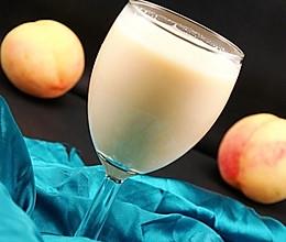 桃子苹果酸奶昔的做法