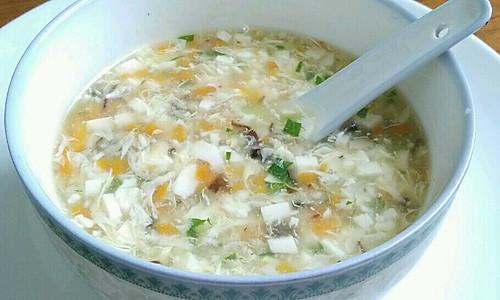 蔬菜豆腐羹的做法