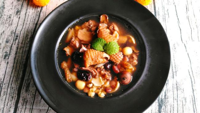 #助力高考营养餐#八宝鸡汤的做法