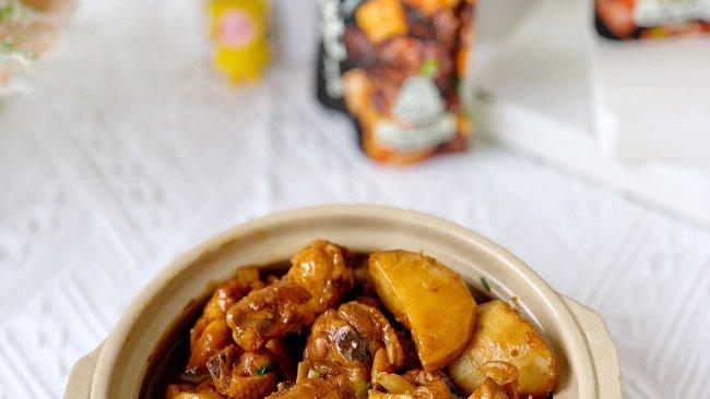 #橄享国民味 热烹更美味#一招搞定鲜香美味可口芋儿烧鸡的做法