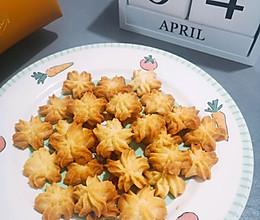 #换着花样吃早餐#超好看的樱花曲奇饼干的做法