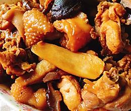 黄焖冬菇滑鸡的做法