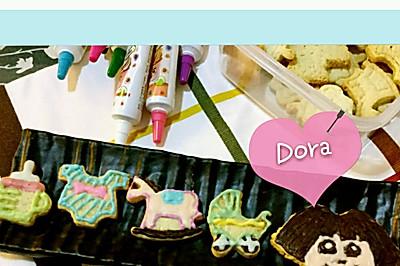 Dora×造型餅乾