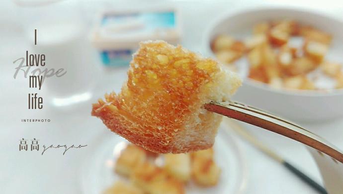 黄油面包块