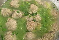 青笋丸子汤的做法