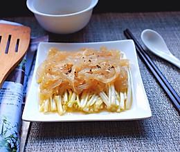 韭黄拌海蜇#我要上首页挑战家常菜#的做法