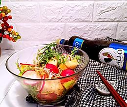 二果三蔬沙拉#Gallo橄露橄榄油#的做法