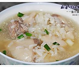 鱼片粥瘦肉粥广东粥°的做法