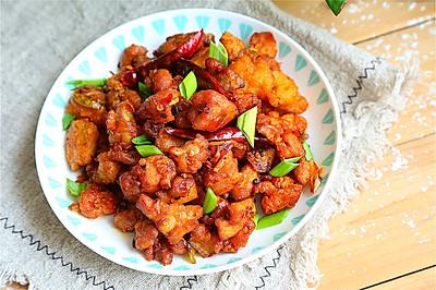 中餐廳里的豆瓣雞