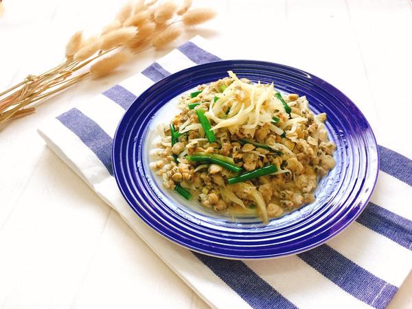 姜丝焖河蚬肉的做法