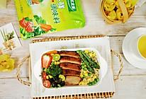 鸭胸时蔬藜麦能量碗的做法