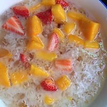椰浆芒果草莓桃胶