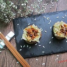 饺子皮版烧麦