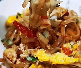 西红柿鸡蛋炒挂面的做法