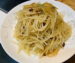 #百变鲜锋料理#太太乐鲍汁蚝油醋溜土豆丝的做法