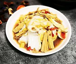 腐竹炒大白菜的做法