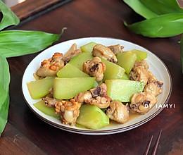 #快手又营养,我家的冬日必备菜品# 佛手瓜炒鸡翅的做法