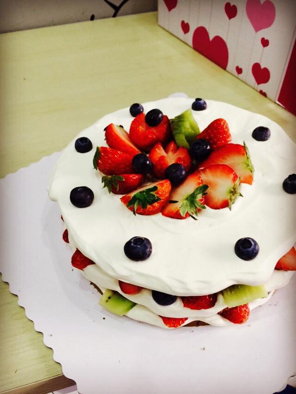 水果诱惑—裸蛋糕的做法