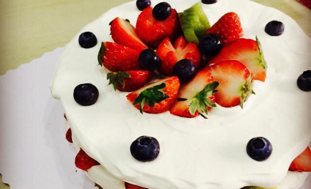 水果诱惑—裸蛋糕