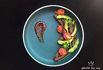 #快手又营养,我家的冬日必备菜品#毛豆车喱茄煎牛排的做法