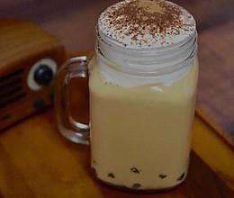 奶盖焦糖奶茶的做法