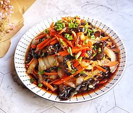 凉拌白菜梗的做法