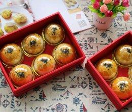 美味蛋黄酥(新鲜现磕的咸鸭蛋黄)的做法