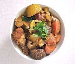 鸡翅鸡腿炖香菇土豆胡萝卜的做法