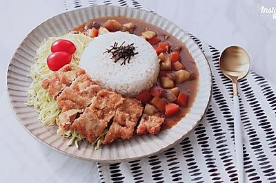 [快厨房]炸猪排咖喱饭