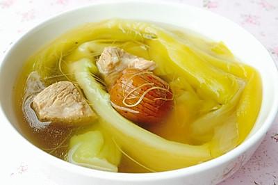 秋季粤式老火汤--霸王花瘦肉汤(滋阴润肺)