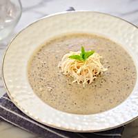 鸡丝奶油蘑菇汤 -《好先生》孙红雷打动主厨的做法图解13