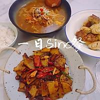零失败「腊味干锅土豆片」的做法图解12