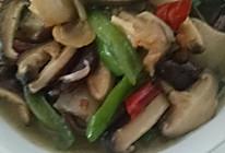香菇炒腊肉的做法