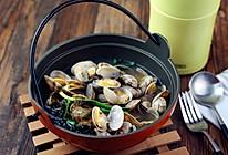 紫菜花蛤汤#膳魔师焖烧罐#的做法