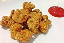 自制健康低卡的美味鸡米花的做法