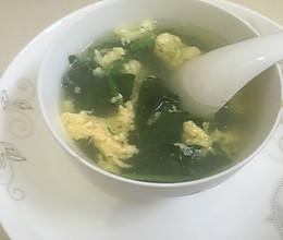 菠菜鸡蛋汤(芙蓉汤)的做法